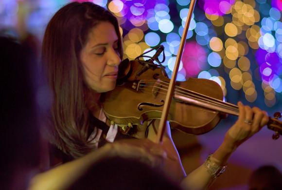 Live Violin Show