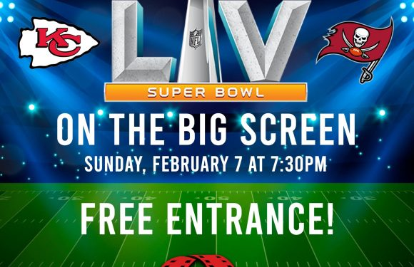 (FREE) Super Bowl streaming on the big screens
