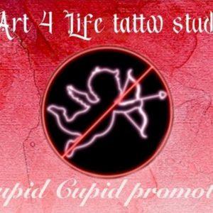Stupid Cupid Tattoo Promotion