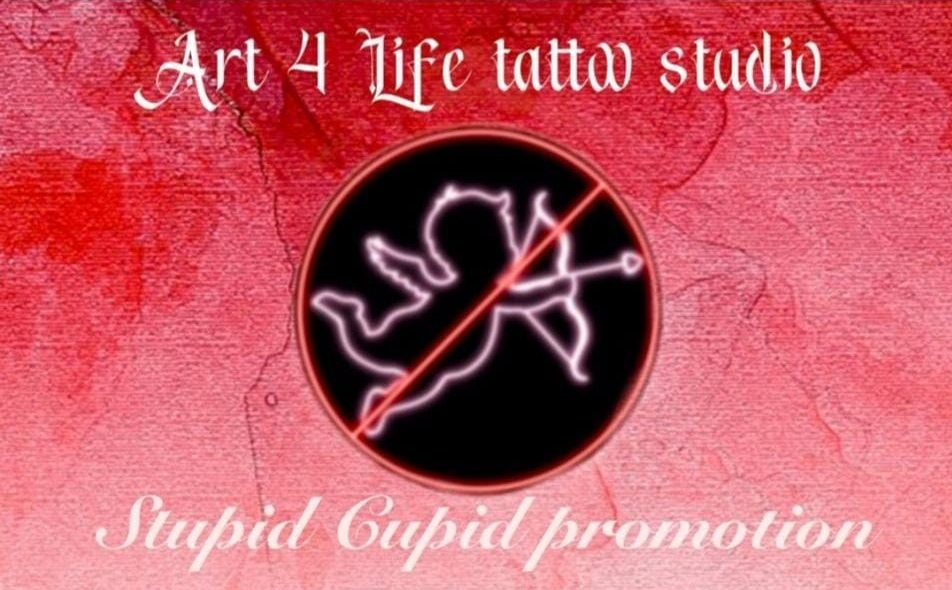 Stupid Cupid Tattoo Promotion