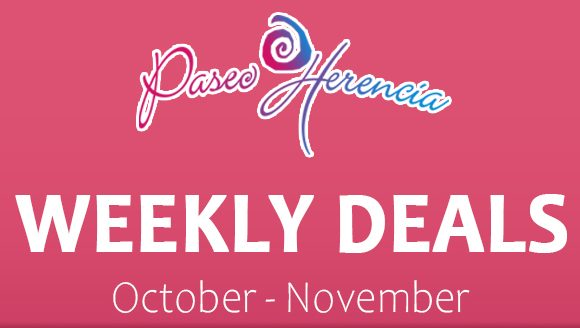 Get Spooked by the Weekly Deals at Paseo Herencia!